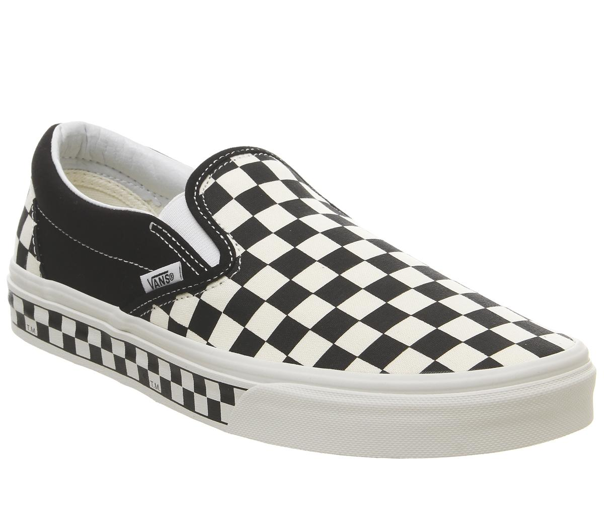 black and white vans